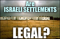 Are Israeli Settlements Legal?