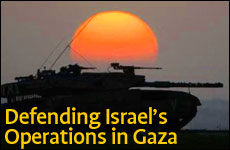 Defending Israel's Operations in Gaza