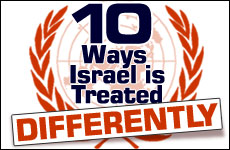 Ten Ways Israel Is Treated Differently